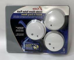 Kidde 0914 Sensor Comapct Battery-Operated Smoke Alarm Set,