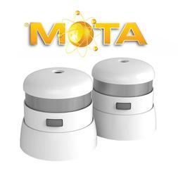 First Alert 10 Year Atom Micro Smoke & Fire Alarm 2pk New!!
