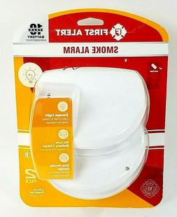 First Alert 10 Year Photoelectric Smoke Alarm 2 Pack - P1210