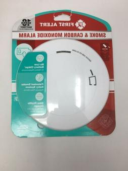 First Alert 1039868 Battery-Powered Smoke Detector With Led
