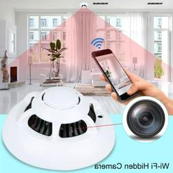 1080P HD Wi-Fi Hidden Camera Smoke Detector Real-time Securi