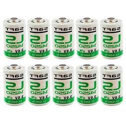 10x SAFT LS14250 3.6V 1/2 AA Replacement Battery High Capaci