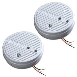 Kidde 1275 Hardwire Smoke Alarm with Hush Feature and Batter