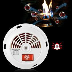 12V Gas Leak Alarm Warning Sensor Detector Home Security Too