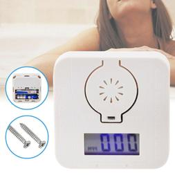 Mini CO Carbon Monoxide Detector Alarm Poisoning Gas Warning