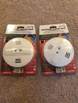 2 Kidde Dual Sensor Photo/Ion Battery-Operated Smoke Detecto