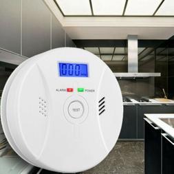 2 In 1 Carbon Monoxide & Smoke Alarm Fire Sensor CO Carbon D