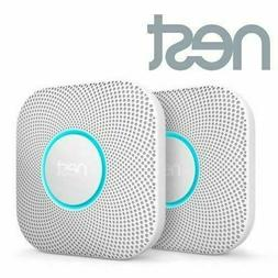 2 Pack Nest Protect Battery Operated Smoke & Carbon CO Detec