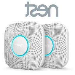 2 Pack Nest Protect Wired Smoke & Carbon Monoxide Detector A