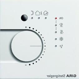 GIRA 2100112Home Regulator Control Unit Pure White