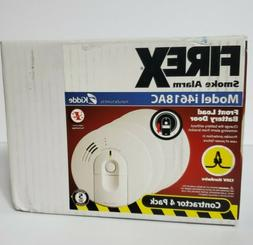 Kidde 21007588 120V AC wire-in Hush Smoke Alarm with Battery