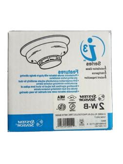 System Sensor 2W-B 20JY97 Smoke Alarm 12/24 Volt Photoelectr