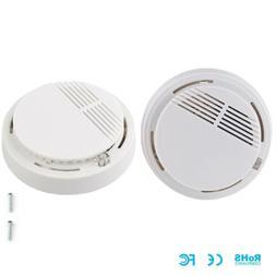2x Smoke Alarm Detector Ionization Sensor Fire Safety Pack B