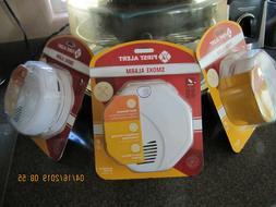 3 - First Alert Battery Operated Dual Sensor Smoke Detector