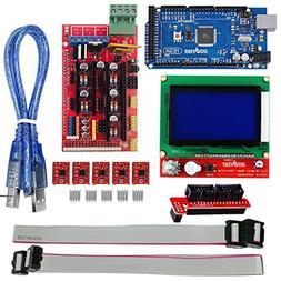 OSOYOO 3D Printer Kit with RAMPS 1.4 Controller + Mega 2560