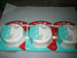 3PCS New Battery Operated First Alert Smoke Detector and Car