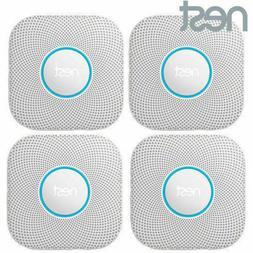 4 Pack Nest Protect Battery Operated Smoke Carbon Detector A