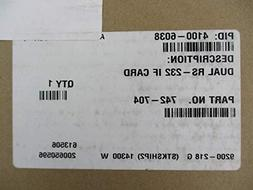 Simplex 4100-6038 - Dual Port RS-232 Interface Card