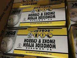 5 x BRK SC9120B SMOKE/CARBON MONOXIDE ALARM NEW  BOX ac powe