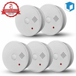 5-Year Smoke Detector Fire Alarm Battery Operated Home Fire