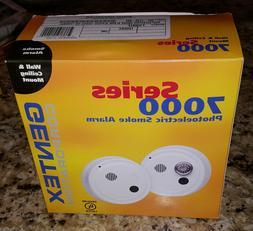 Gentex 7100HF Smoke Alarm, 120V AC Photoelectric w/ Isolated