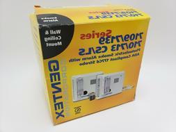 Gentex 7109LS Wall Mount Photoelectric Smoke Alarm w/Battery