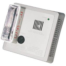 Gentex 7109LS Wall Mount Photoelectric Smoke Alarm w/ Strobe