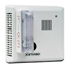Gentex 710CS Hard-Wire Smoke Detector w/Strobe for Deaf