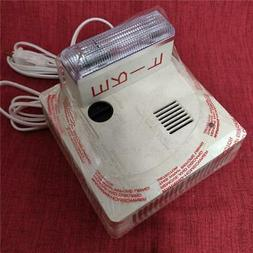 Gentex 710LS-W Hearing Impaired Strobe Smoke Fire Alarm Dete