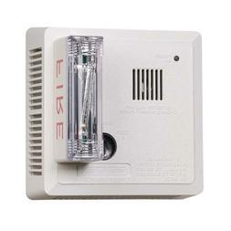 Gentex 7139CS-C Hearing Impaired Smoke Alarm, 120V Hardwired