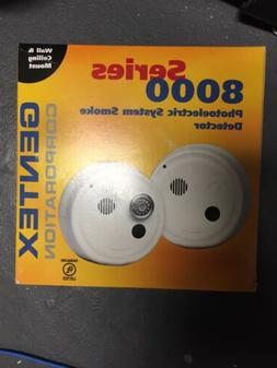 8243pt 24vdc photoelectric smoke detector w thermal