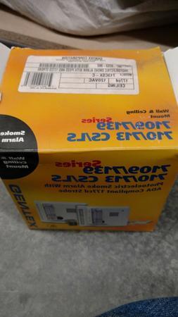 Gentex 907-0253-002 120VAC Photo Smoke Detector w/ 177CD Str