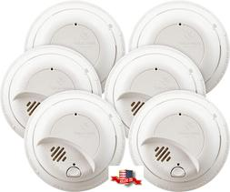 First Alert 9120B6CP Fire and Smoke Detector Alarm - 6 Piece