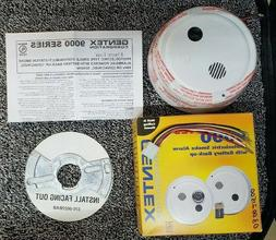 Gentex 9120F, P/E Smoke Detector, 120VAC w/Piezo Sounder, Fo