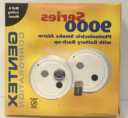 Gentex 9120H Hard Wired Smoke Alarm with Contacts and Backup