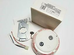 Gentex 917-0001-002 Model 9120 120VAC/9VDC Smoke Detector Wi