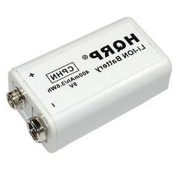 HQRP 9V LI-ION Rechargeable Battery for Kidde i Series Smoke