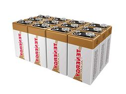 Tenergy 6LR61 9V Alkaline Battery, Non-rechargeable Battery