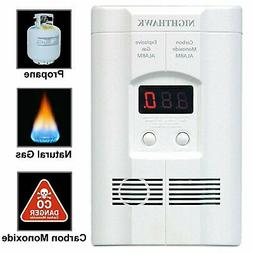 Kidde AC Plug-in Carbon Monoxide and Gas Detector Alarm, Mod