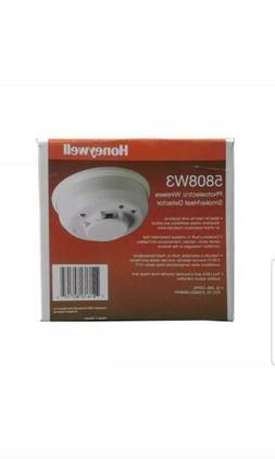 HONEYWELL ADEMCO W3 5808W3 WIRELESS PHOTOELECTRIC SMOKE AND