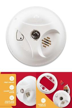 ALARM SOUND Combo Sensor SMOKE & FIRE Detector Emergency wit