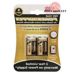 Kidde 9V Batteries, 2pk