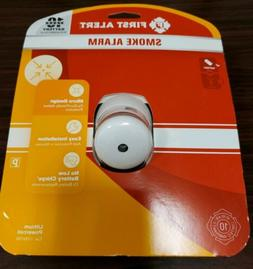 First Alert Battery Photoelectric Smoke Alarm
