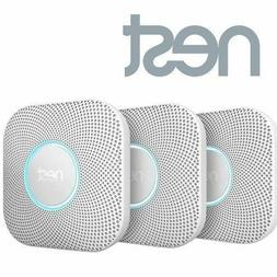 Nest Battery Powered Fire Smoke Carbon CO Detector Alarm Con