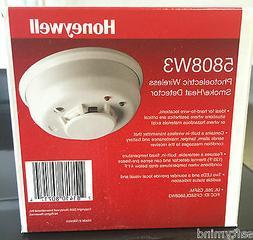 Brand New Honeywell 5808W3 Photoelectric Wireless Smoke Heat