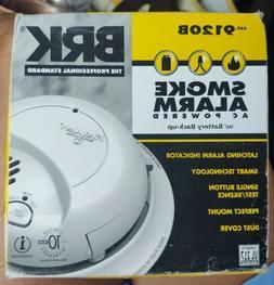 BRK 9120B First Alert SMOKE ALARM DETECTOR, Hardwired with B