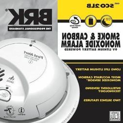 BRK Electronics SCO2LB Smoke and Carbon Monoxide Alarm with