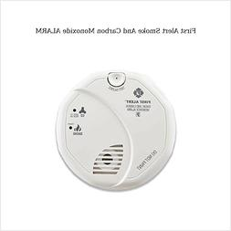 First Alert Brk Hardwired Smoke Alarm And Carbon Monoxide De