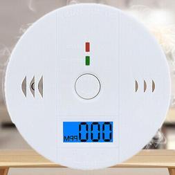 Carbon Monoxide Alarm CO Smoke Detector Stable Security LED