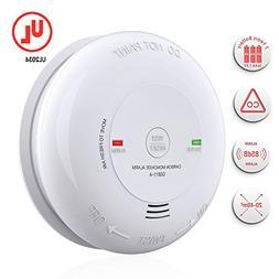 Carbon Monoxide Alarm/Detector, Battery-Operated CO Alarm/De